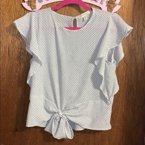 Cute Polka Dot Top